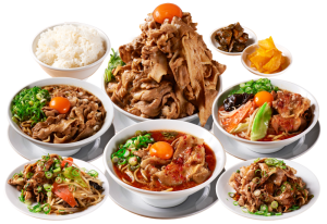 肉汁麺ススムの商品群