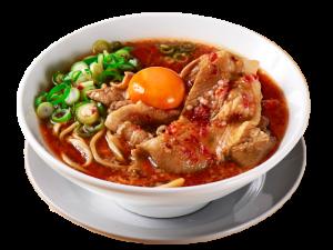 辛い肉汁麺