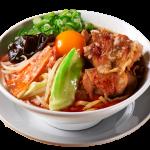 辛い野菜肉汁麺